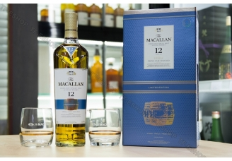 麥卡倫 Macallan Fine Oak 12 Year Triple Cask 700ml (2018/19) Limited Edition(連杯套裝)